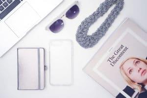 iPhone 8 case flatlay