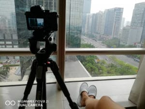 Photography With The Huawei Nova 2i Behind Scenes