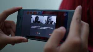 Sony Xperia XZ1 3D scanning