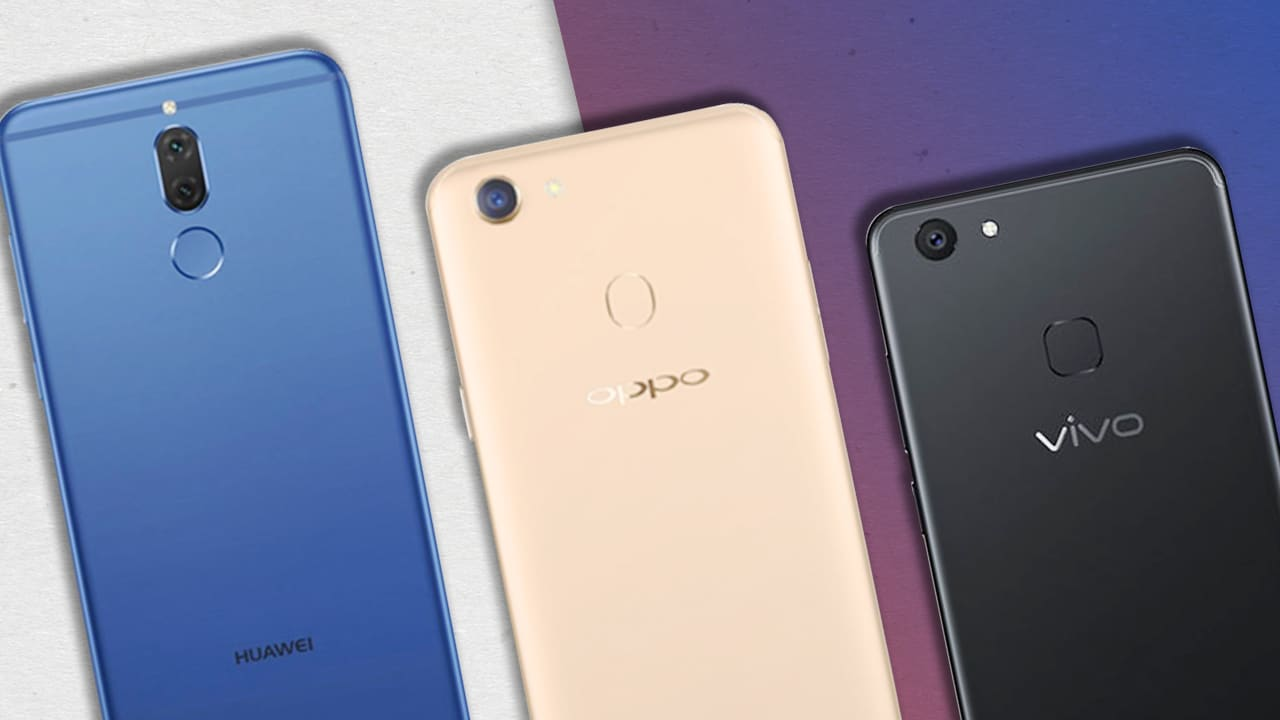 Huawei Nova 2i vs OPPO F5 vs Vivo V7+: Camera shootout