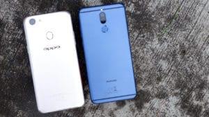 OPPO F5 vs Huawei Nova 2i: Side-by-side comparison - GadgetMatch