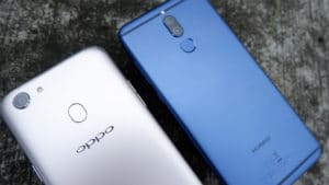 OPPO F5 vs Huawei Nova 2i