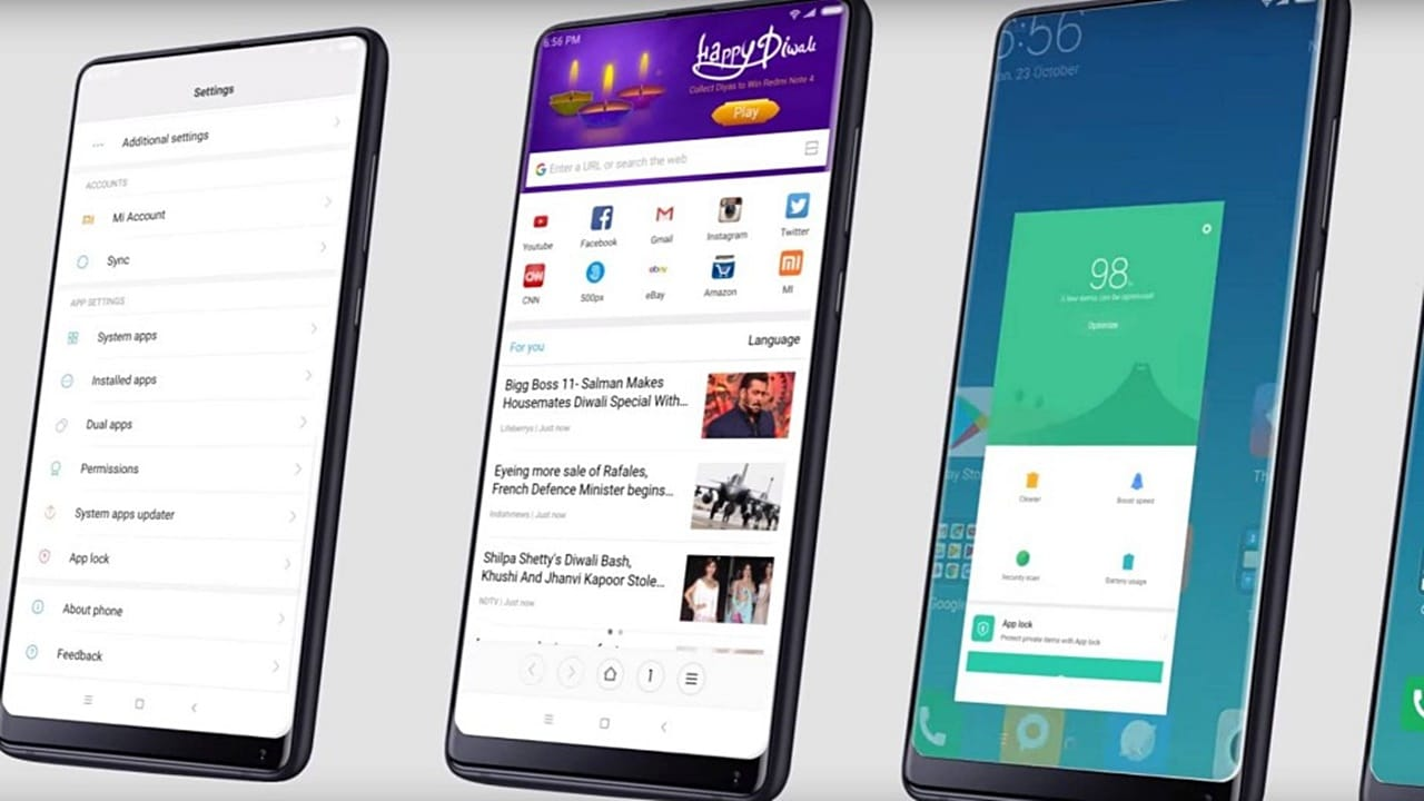 Xiaomi rolls out MIUI 9 Global, claims to be as fast as