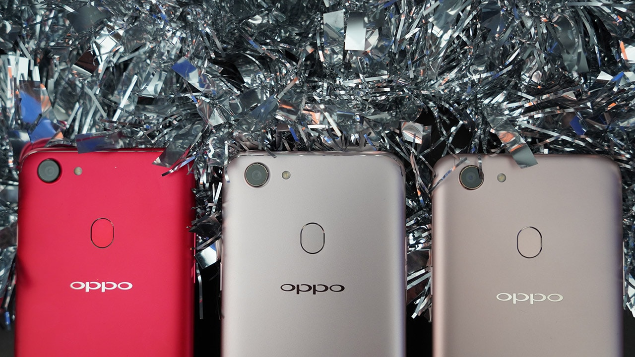 the best attitude e4d3c 76ede OPPO F5 vs OPPO F5 6GB vs OPPO F5 Youth: Which one is for you ...