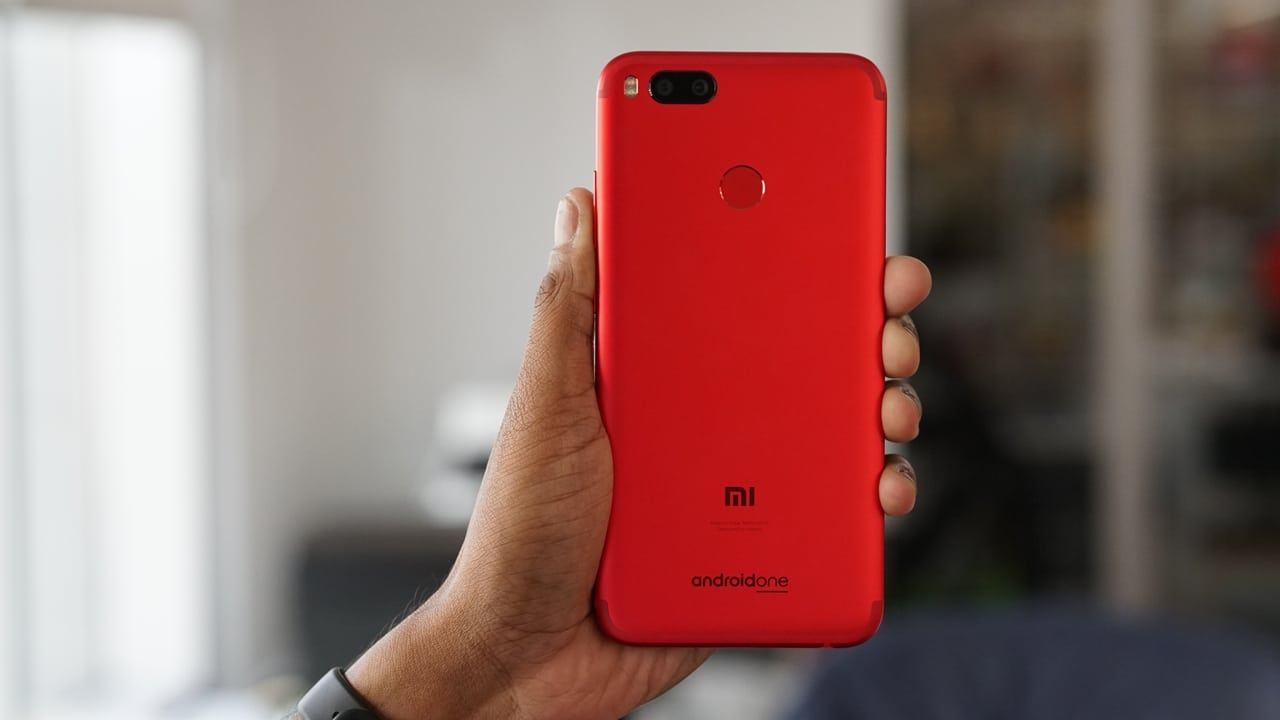 Xiaomi Launches Mi A1 Special Edition Red In India ...