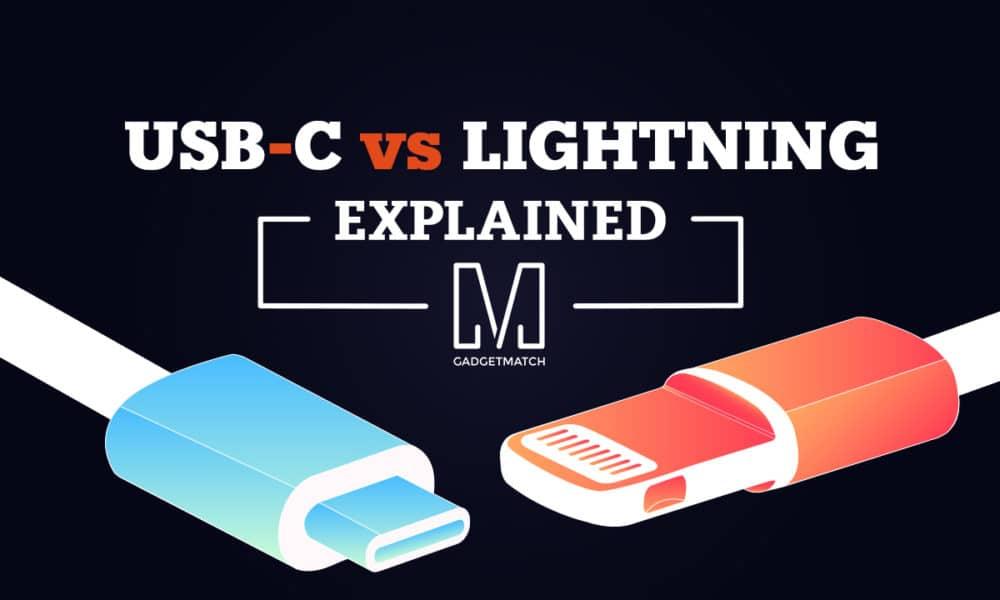 battle of the reversibles usb c vs lightning connector. Black Bedroom Furniture Sets. Home Design Ideas