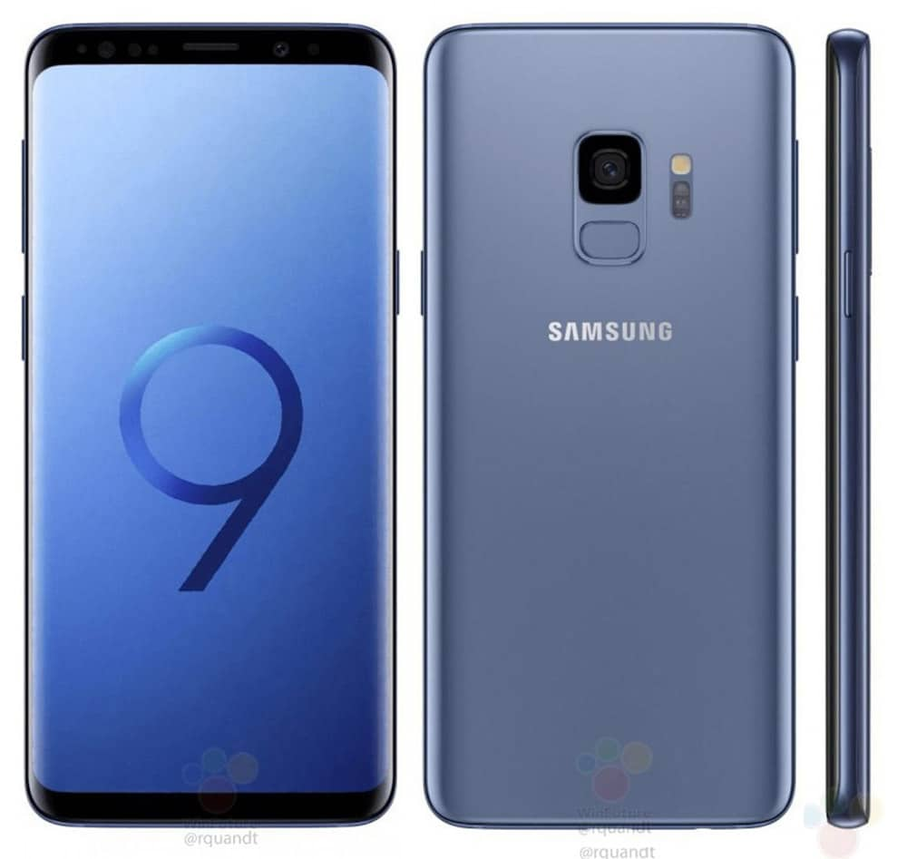 latest samsung galaxy s9 s9 leaks reveal renders and. Black Bedroom Furniture Sets. Home Design Ideas