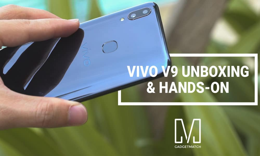 Vivo V9 Unboxing and Hands-on Video - GadgetMatch