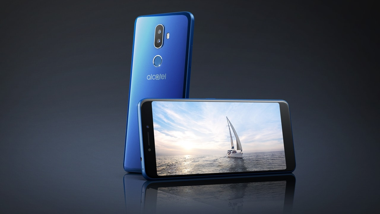 Alcatel 1X with Android Oreo (Go edition) and Alcatel 3V are