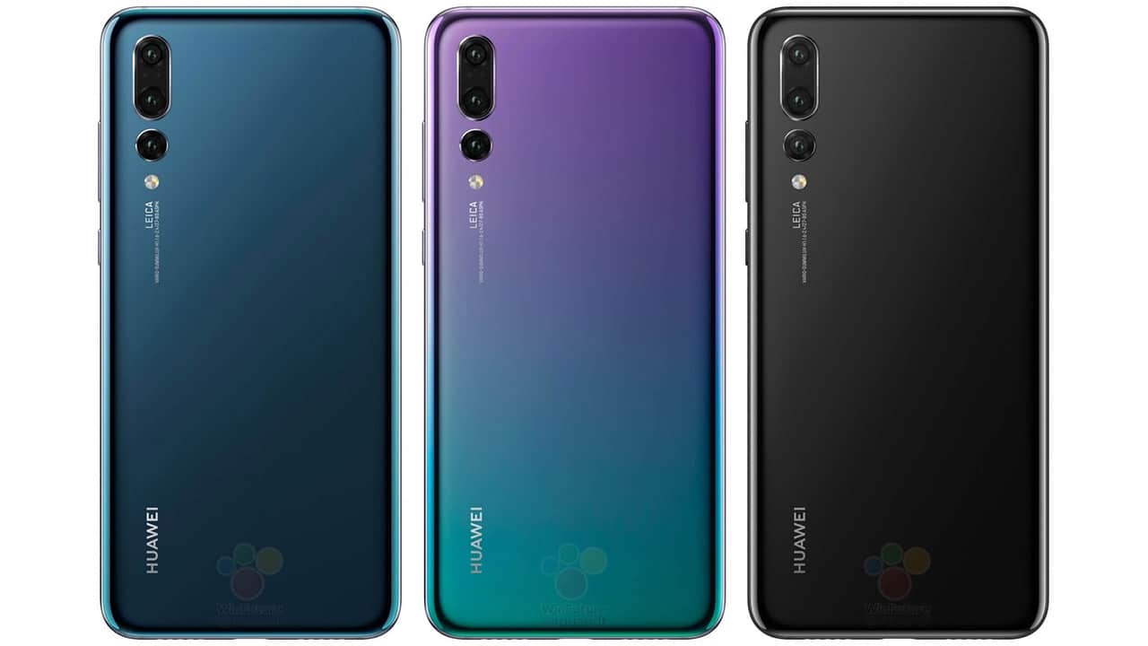 Huawei P20 Series Will Come In Multiple Fascinating Colors With