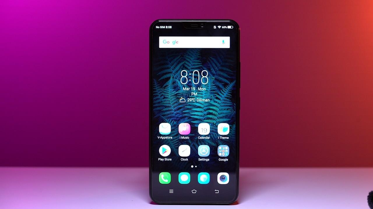 Vivo V9 Hands-on: A handsome-looking midrange phone