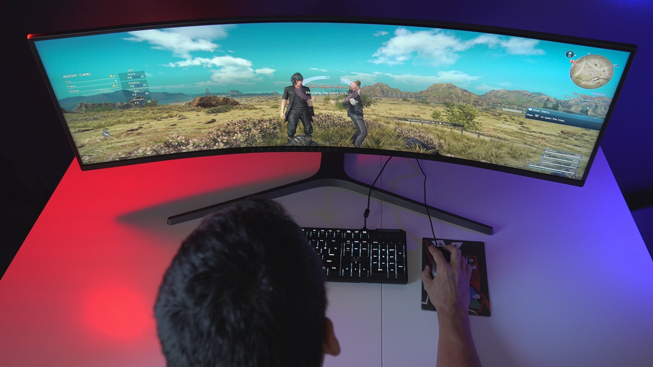4 things you can do with Samsung's 49-inch curved monitor - GadgetMatch