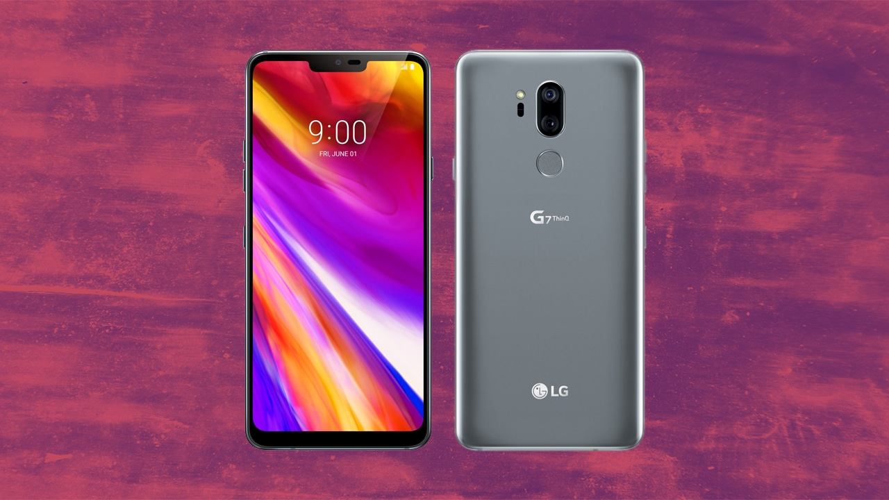 lg g7 thinq confirmed to have an lcd with 1 000 nits of brightness gadgetmatch. Black Bedroom Furniture Sets. Home Design Ideas