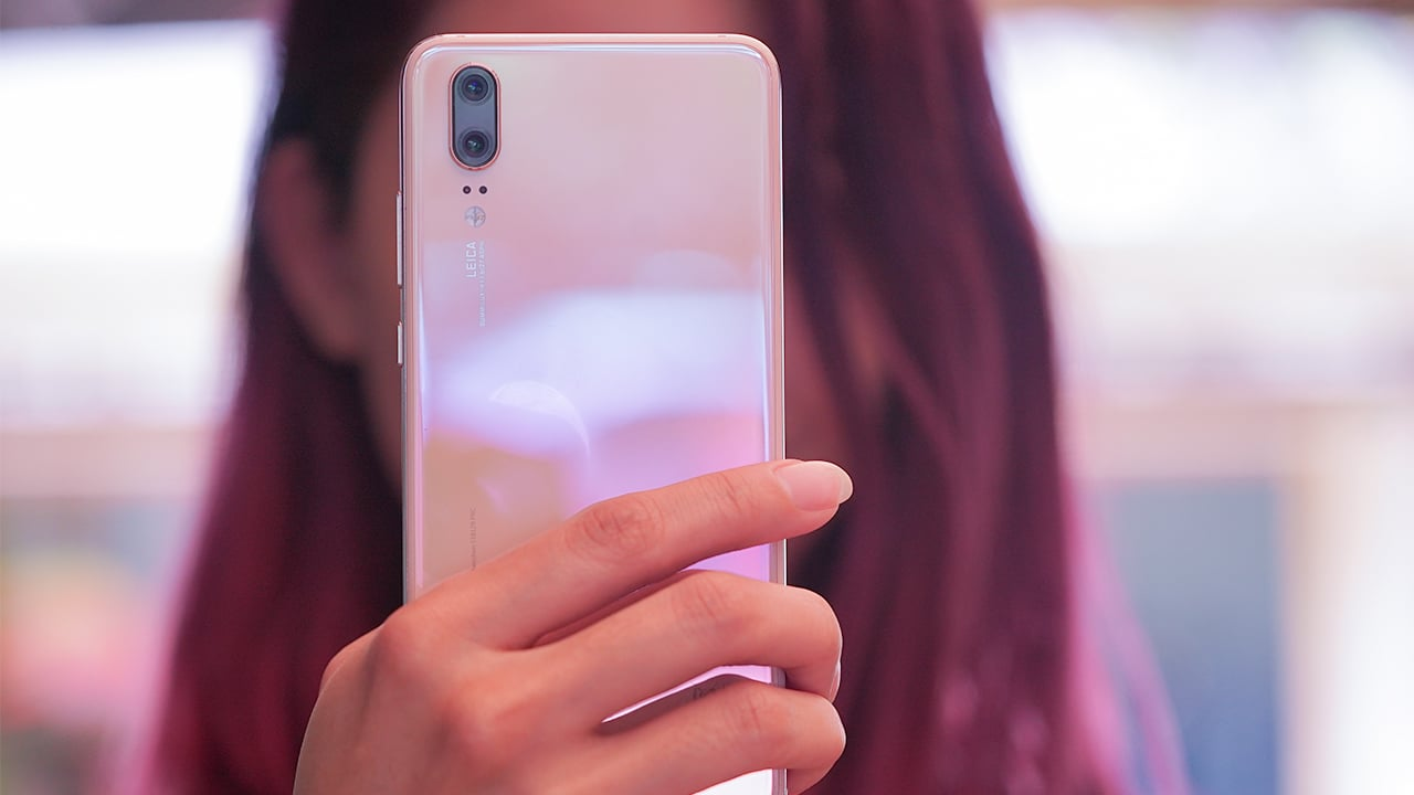 Pink Gold Huawei P20 Hands On A Beautifully Subtle