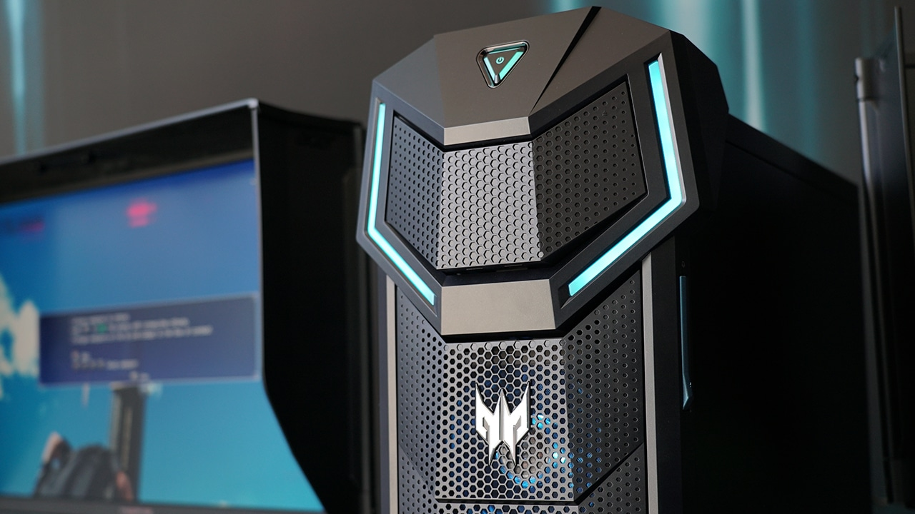 Acer's Predator Orion 5000 gaming PC can house GTX 1080 Ti