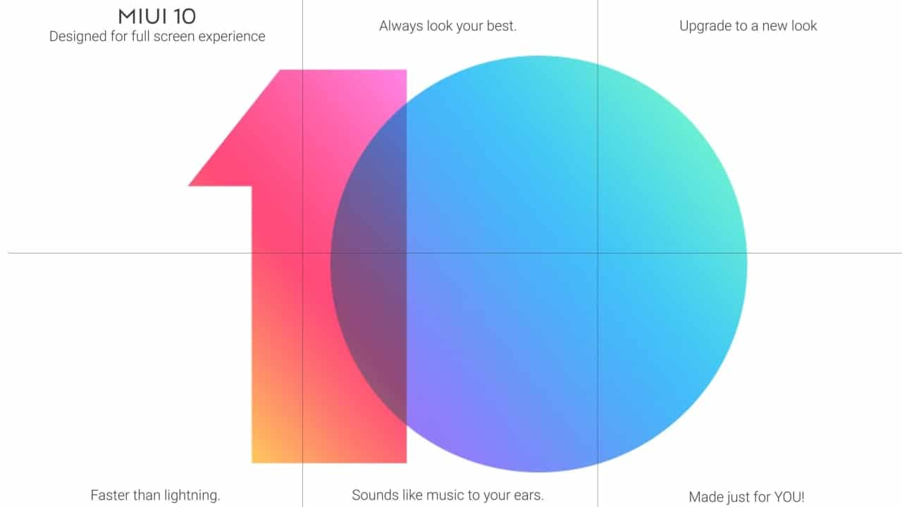 MIUI 10 Global is now official, beta starts rolling out in