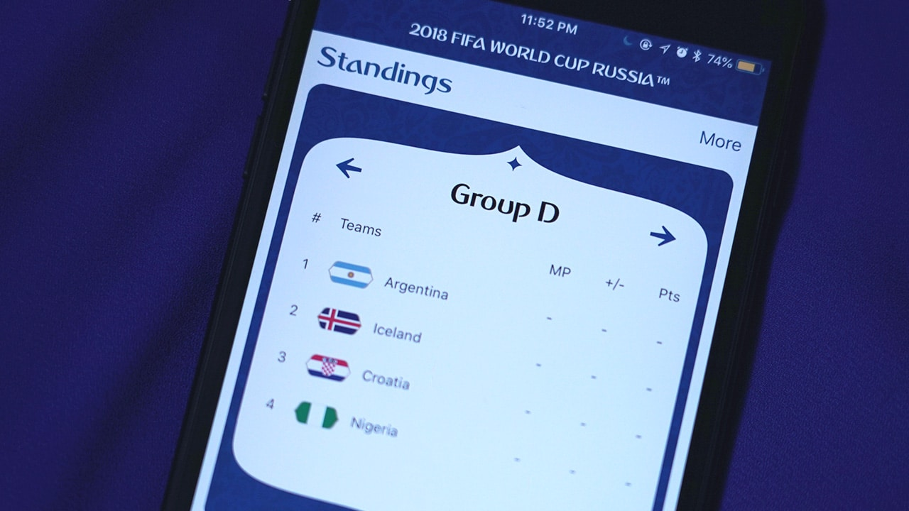 World cup dating app