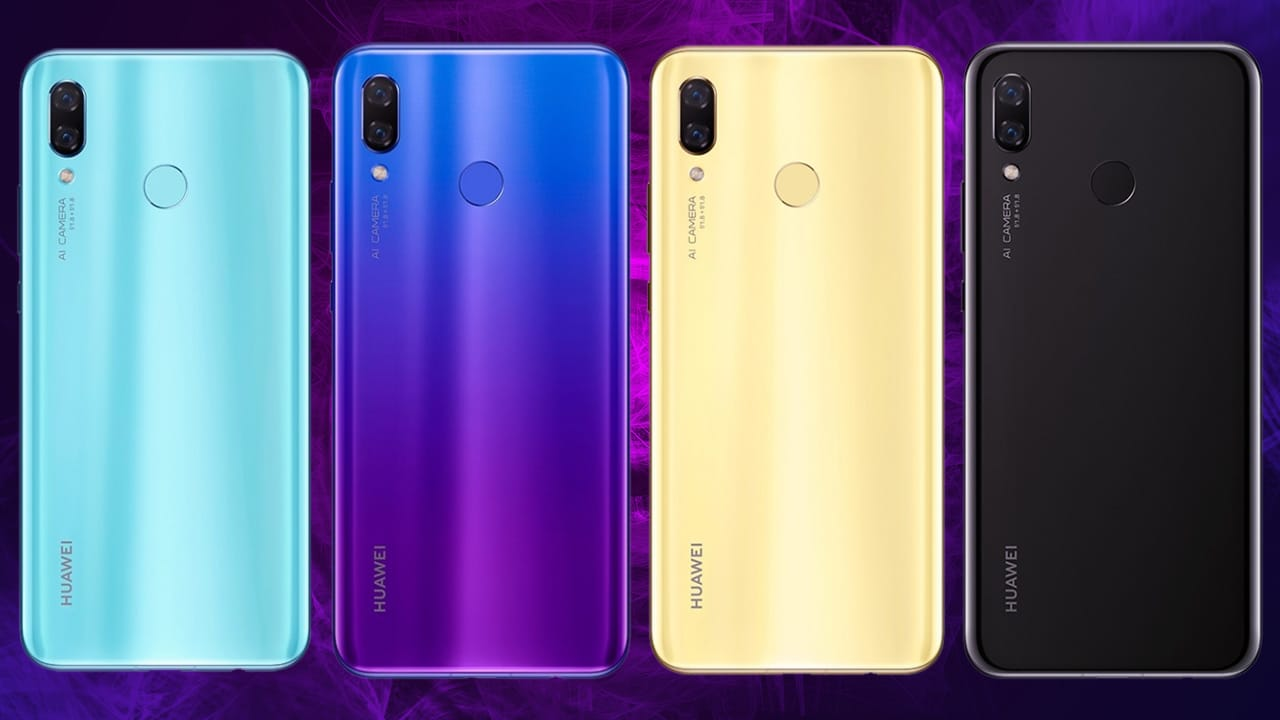 Huawei Nova 3 unveiled online prior to official launch