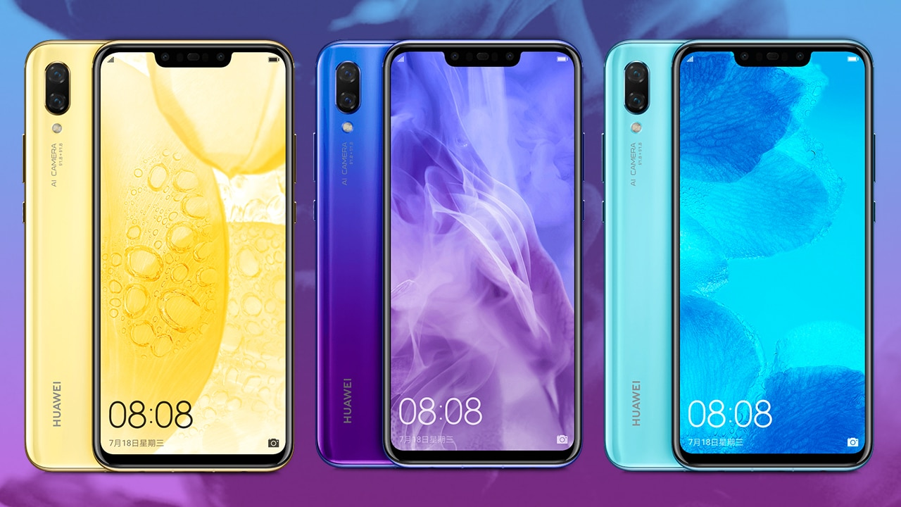 Huawei Nova 3: Price and pre-order details in the