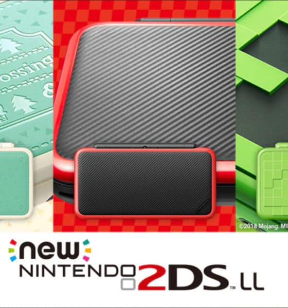 Special Edition Nintendo 2DS XL features Animal Crossing, Mario Kart