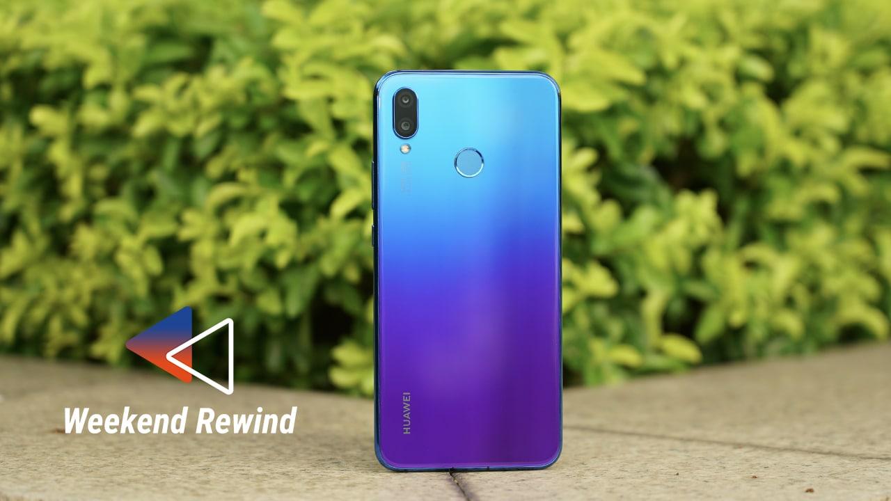 Apple's 60 new emoji, Huawei's Nova 3 and 3i: Weekend Rewind