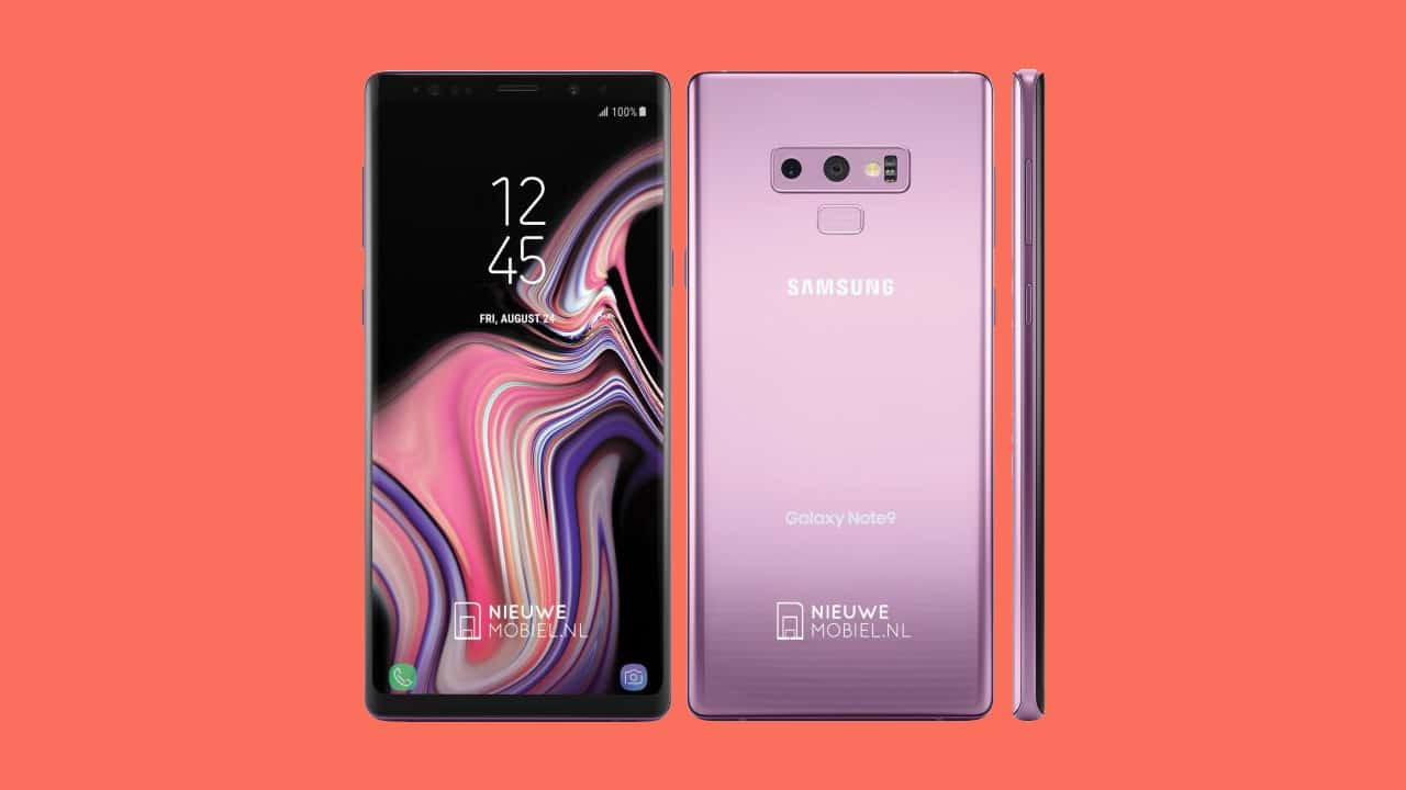 Lilac Purple to live on in Samsung Galaxy Note 9 - GadgetMatch
