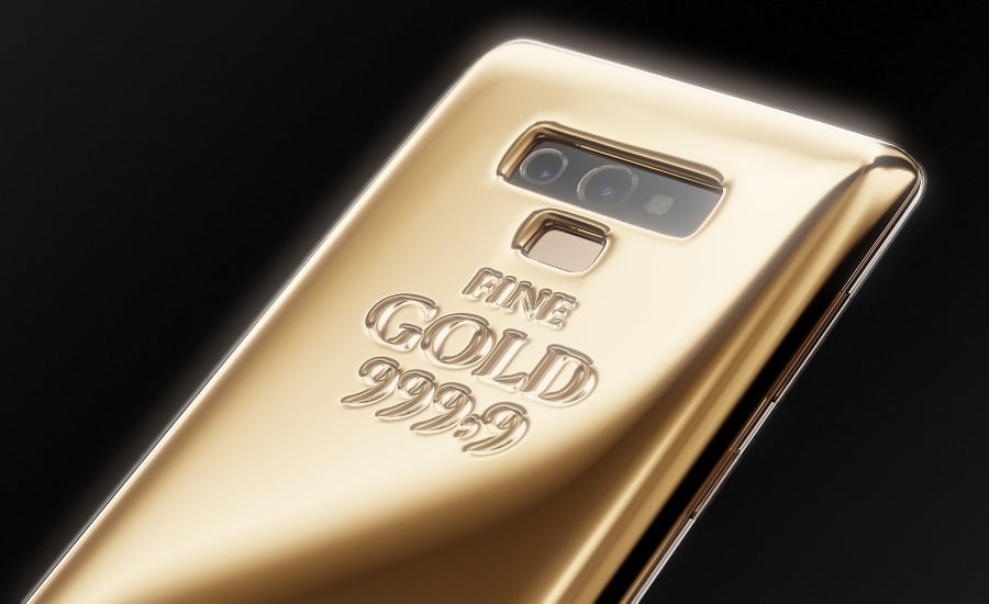 Samsung Galaxy Note 9 gets a luxury treatment with 1kg pure
