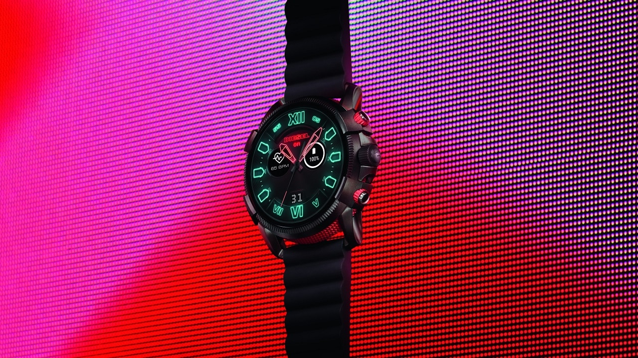 Diesel Full Guard 2 5 is a massive Wear OS smartwatch with a