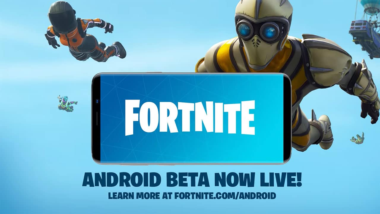Fortnite arrives on Android as direct download on Samsung's Game