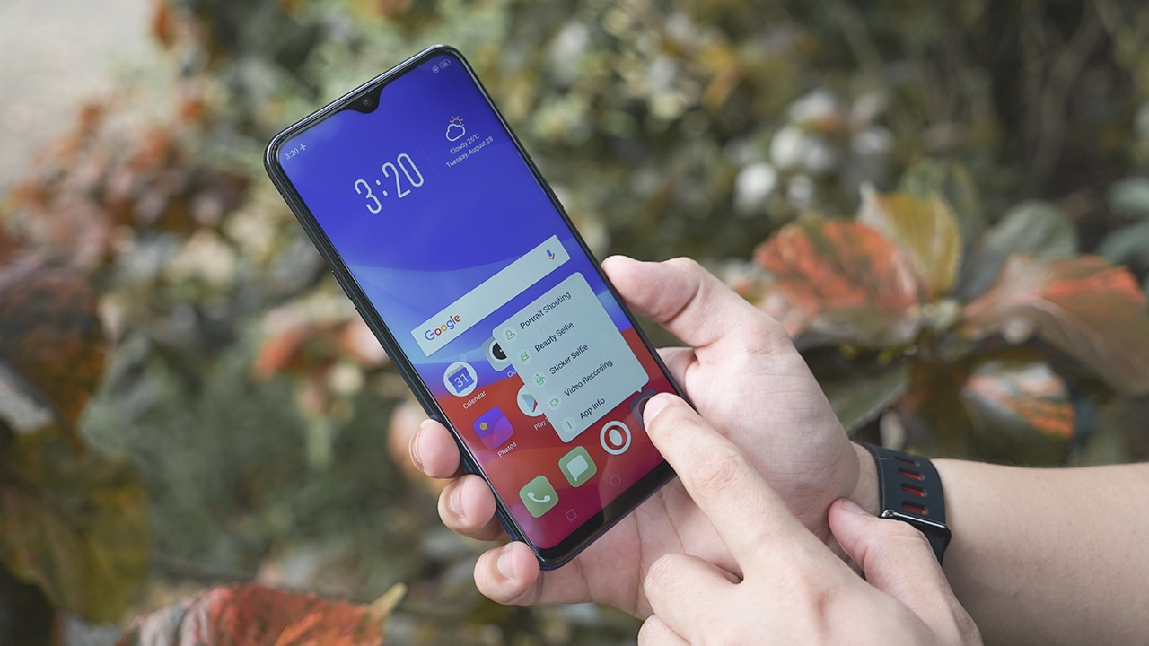 OPPO F9 Review: New design with minor upgrades - GadgetMatch