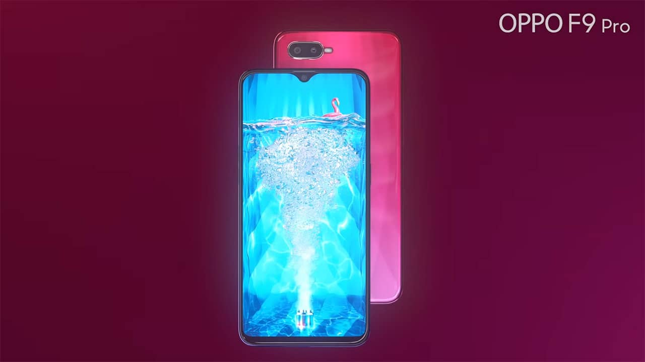 OPPO F9 Pro fully revealed in official trailer - GadgetMatch