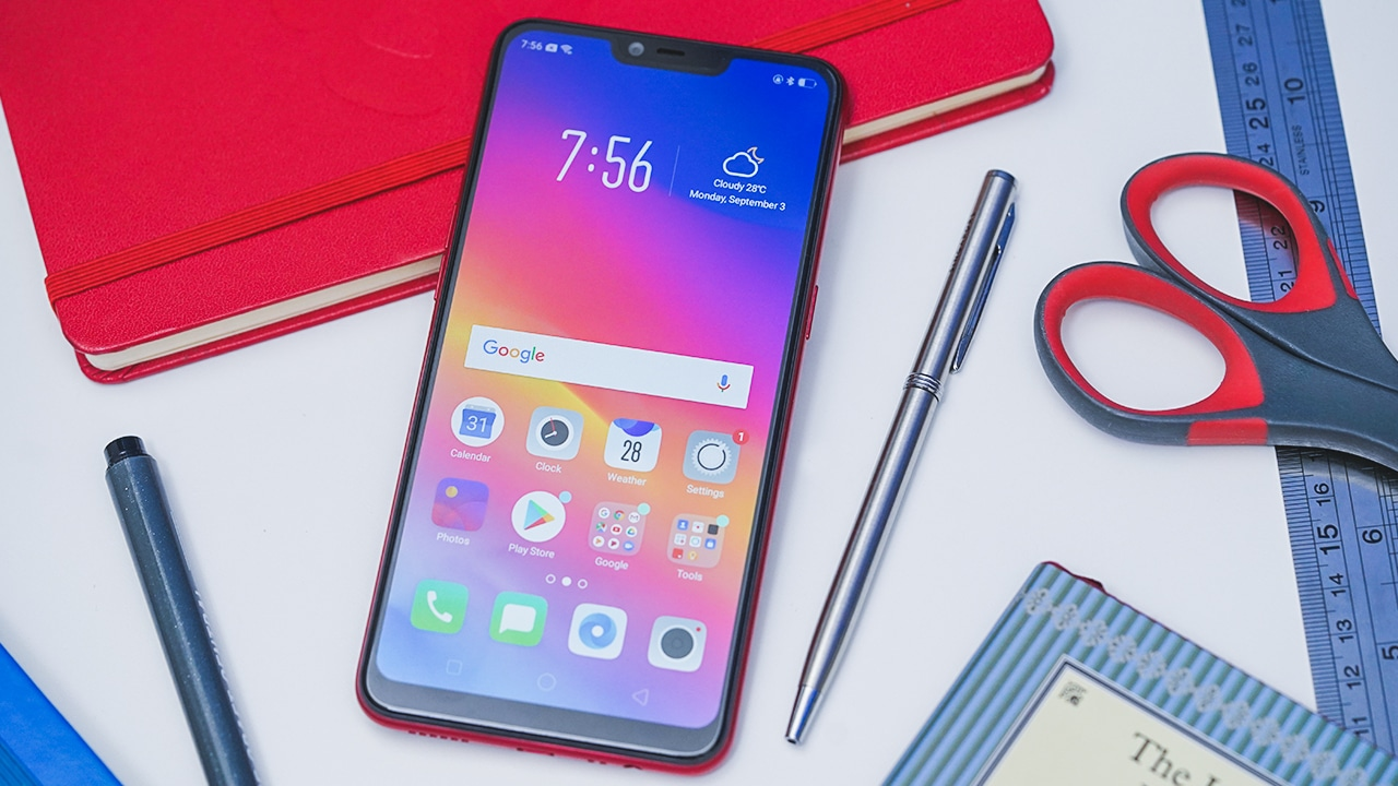 brand new 1d8ef 52ce5 OPPO A3s hands-on: A budget champion - GadgetMatch