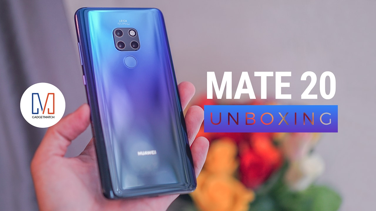 Huawei Mate 20 And Mate 20 Pro Unboxing Gadgetmatch