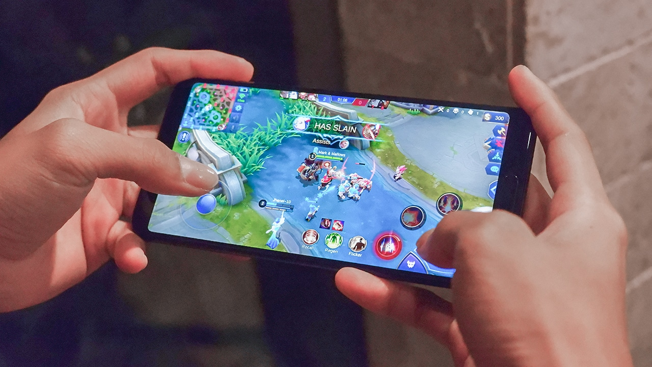 Image result for playing mobile legends