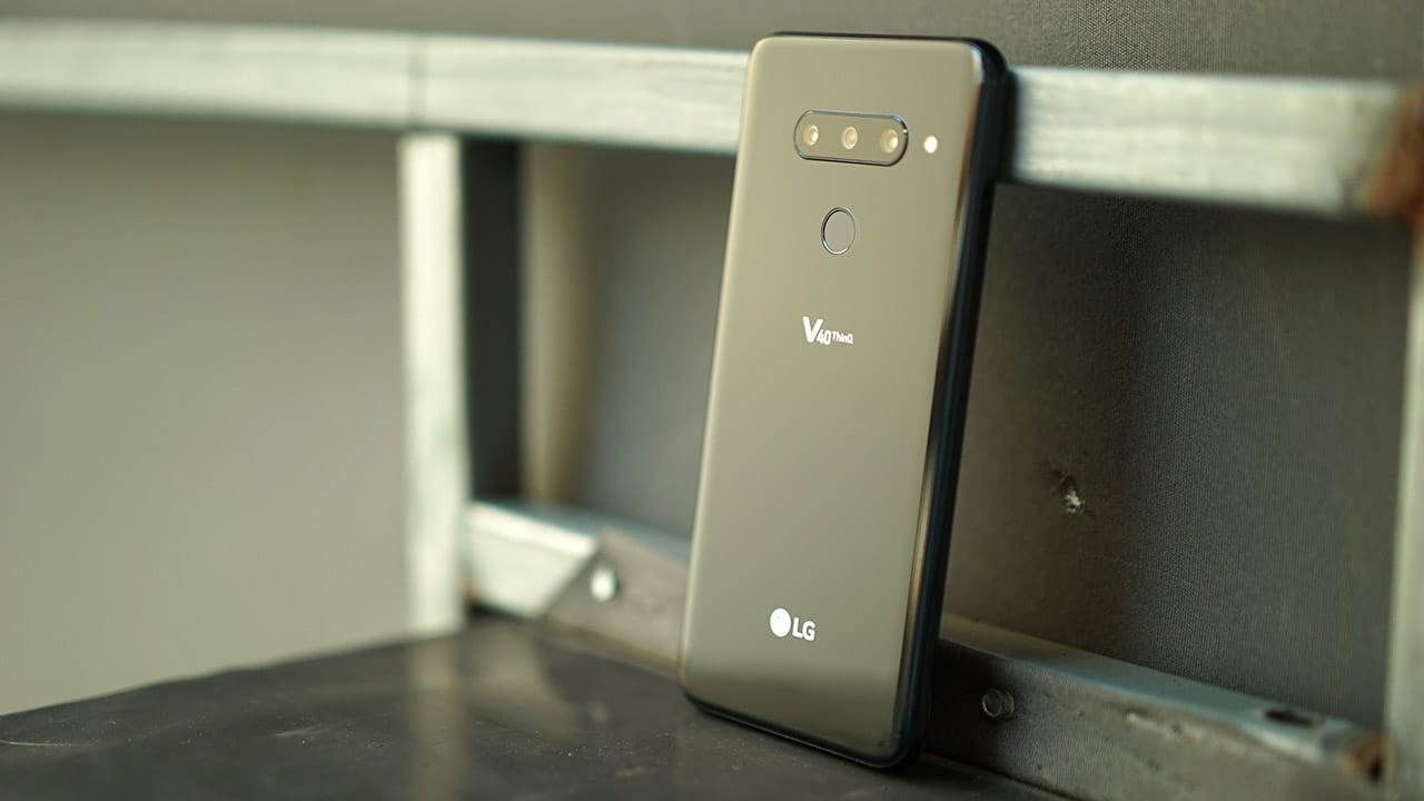 LG V40 ThinQ launches with most versatile quintuple-camera