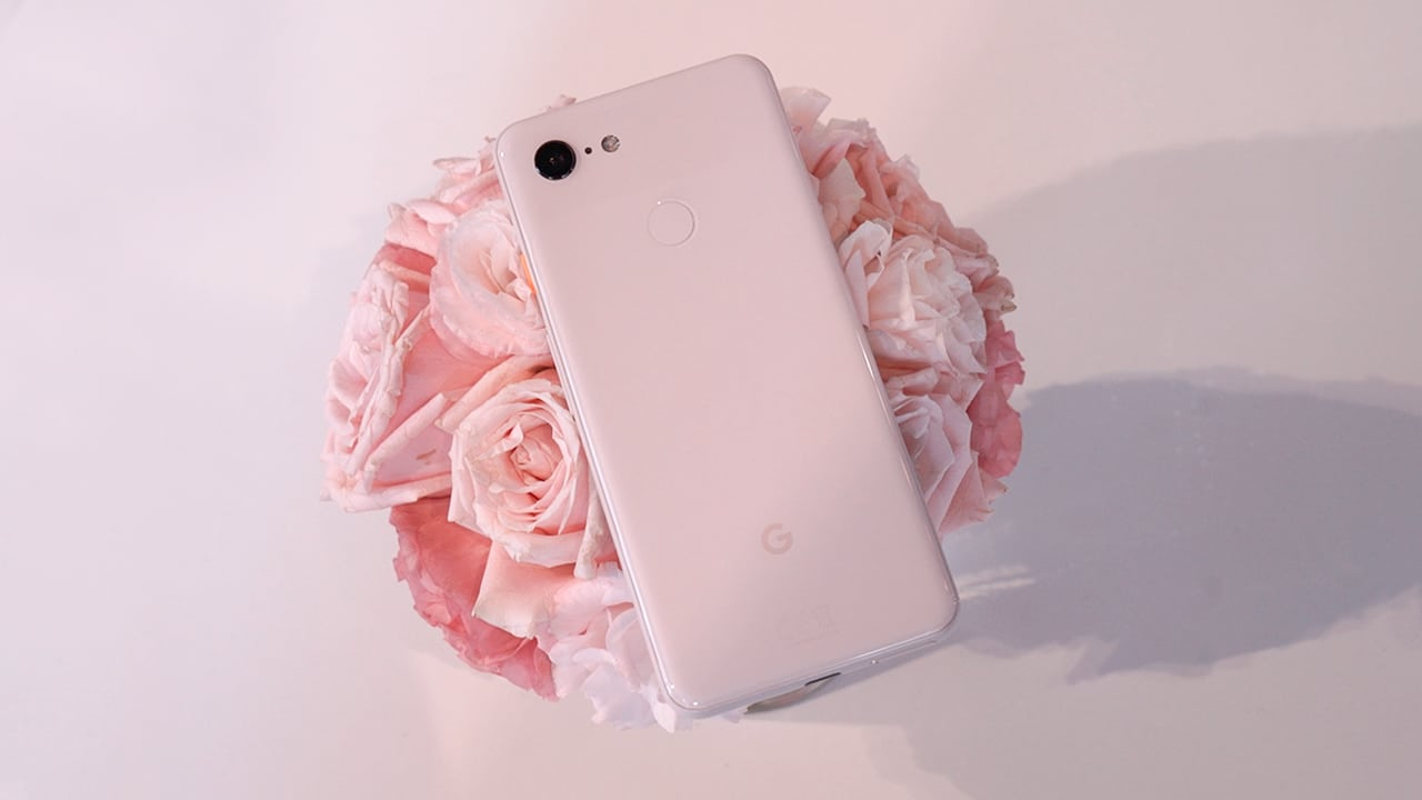 Google Pixel 3 Not Pink hands-on: Is it really pink