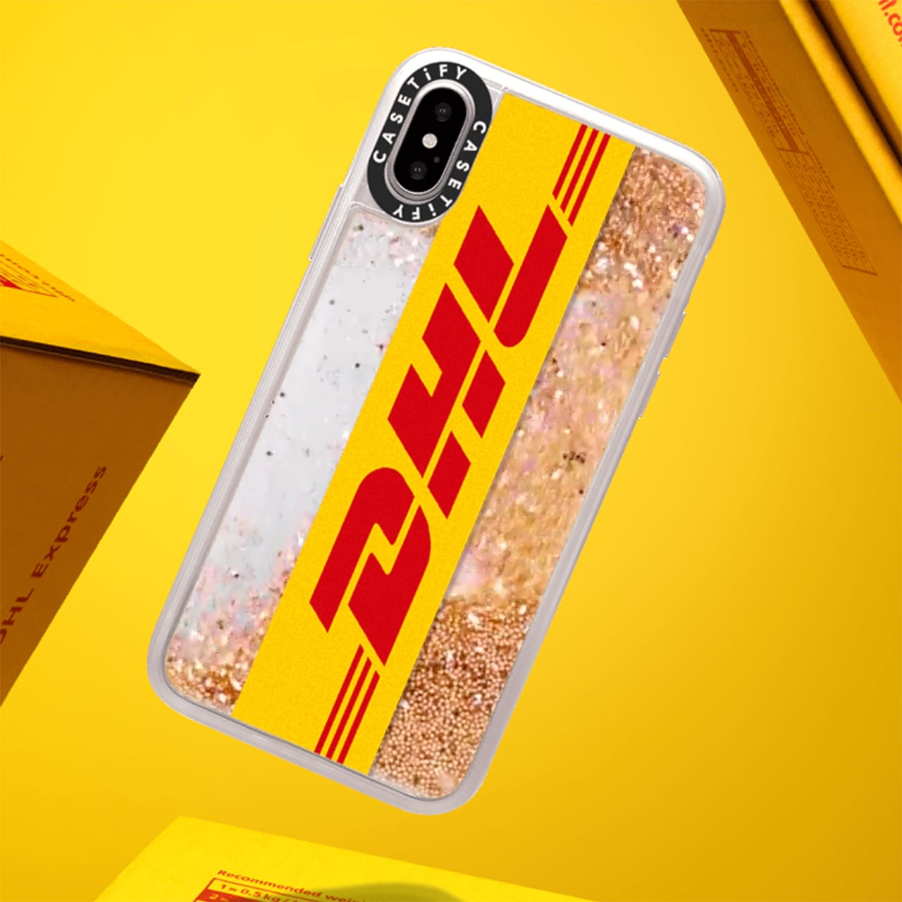 competitive price da638 c2acc Casetify unveiled a collab with DHL and it looks oh so good ...