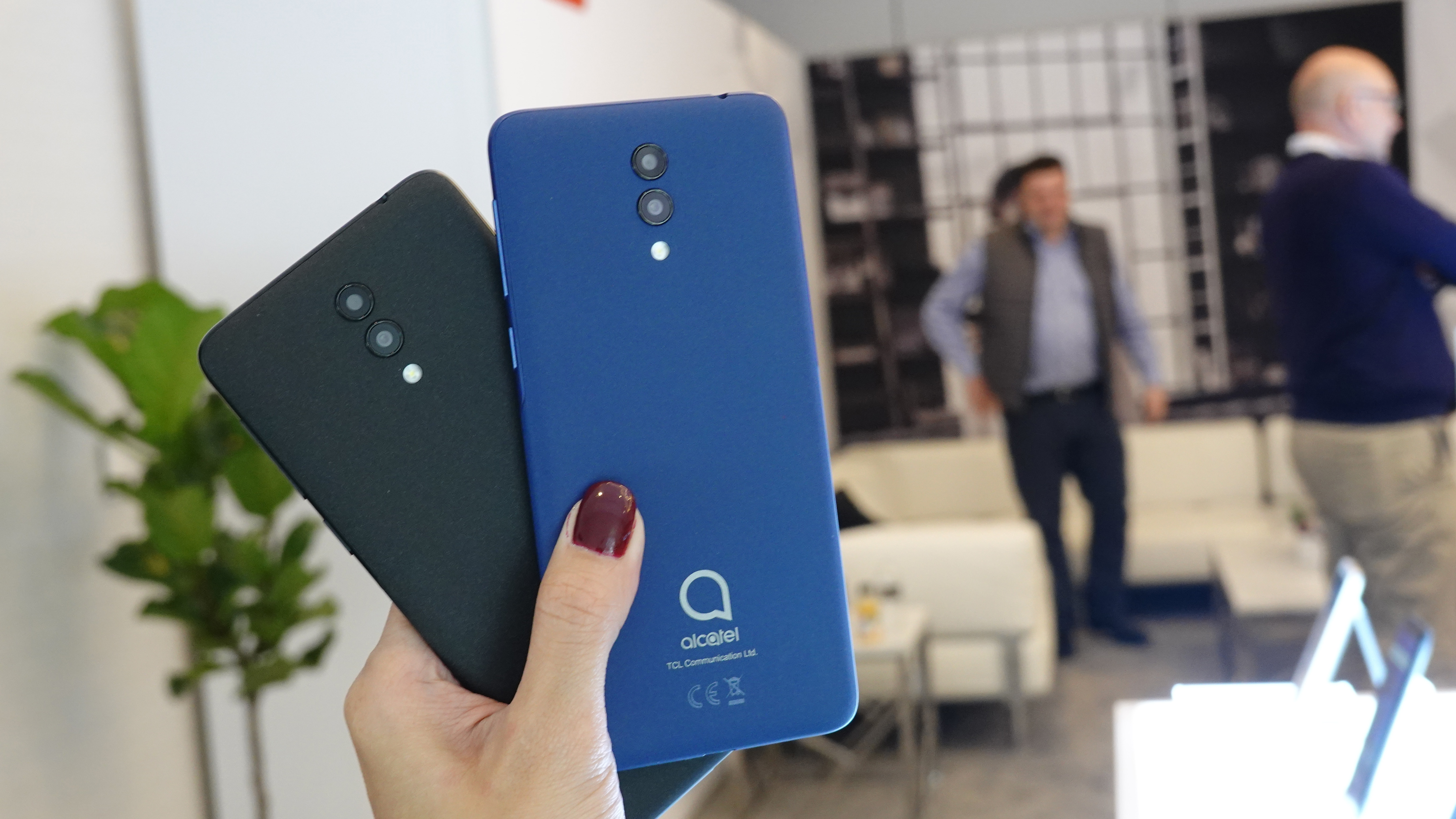 Alcatel launches affordable smartphones at CES 2019