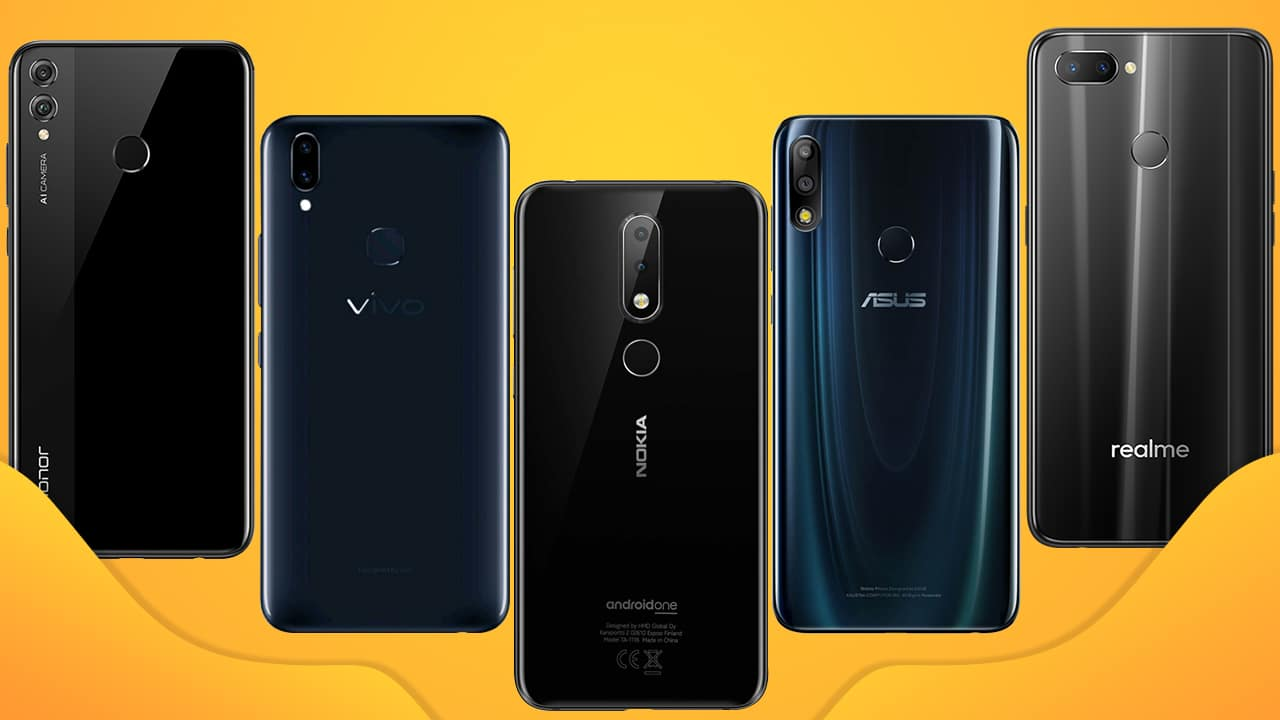 2019 best budget smartphones Best Budget Smartphones in India below INR 15,000 (Q1 2019