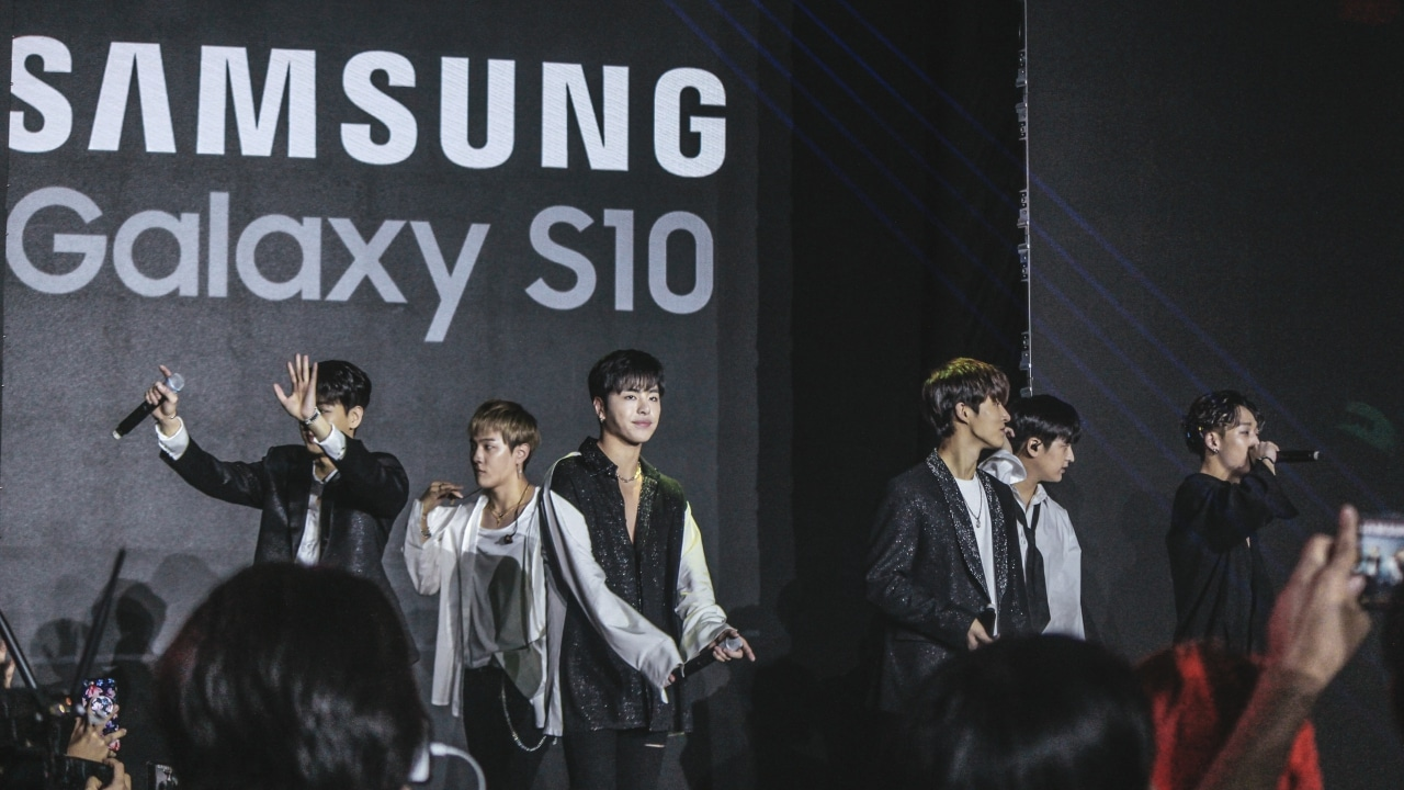 iKON wows at Samsung Galaxy S10 Philippine launch - GadgetMatch