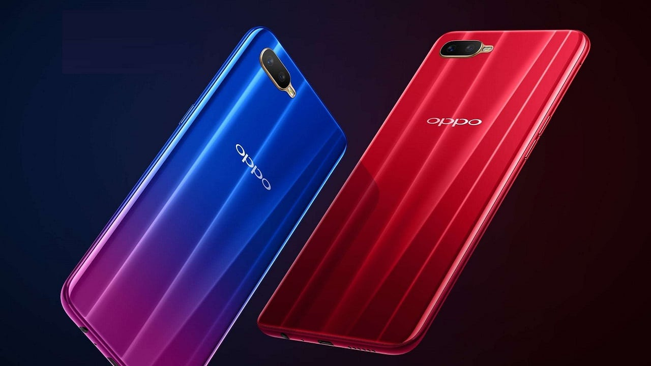 OPPO K1 is a budget phone with an in-display fingerprint scanner
