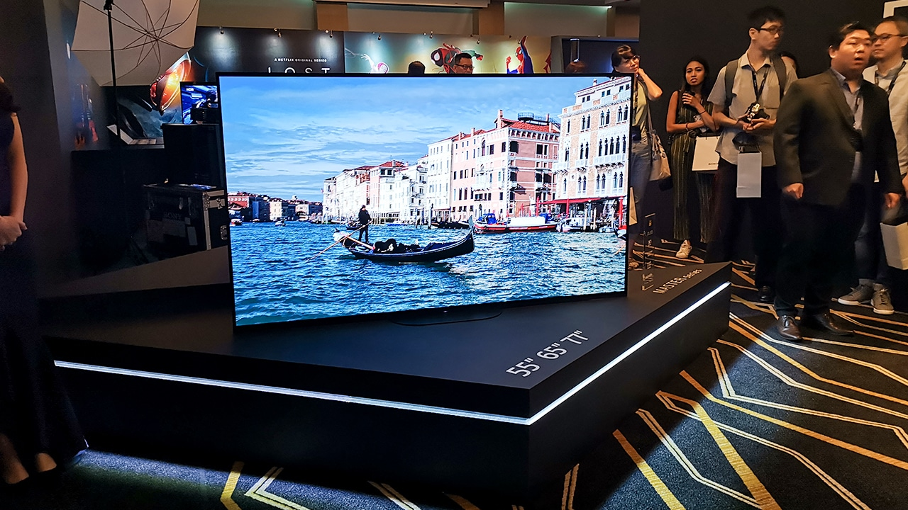 How Sony's newest TV made me remember what matters most