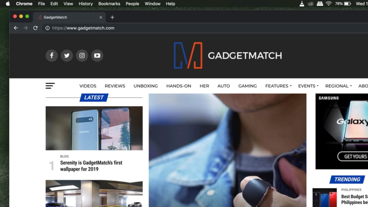 Dark mode for Google Chrome is now available for Mac - GadgetMatch
