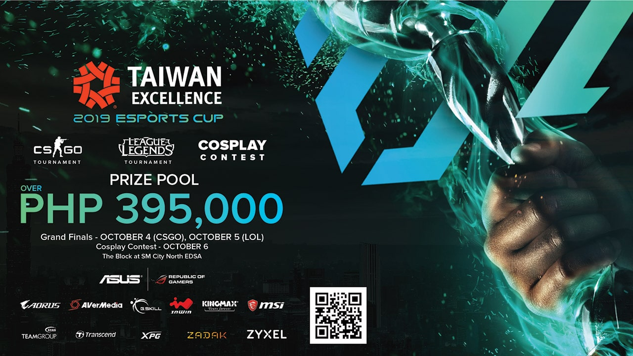 Taiwan Excellence is holding its first esports cup in the