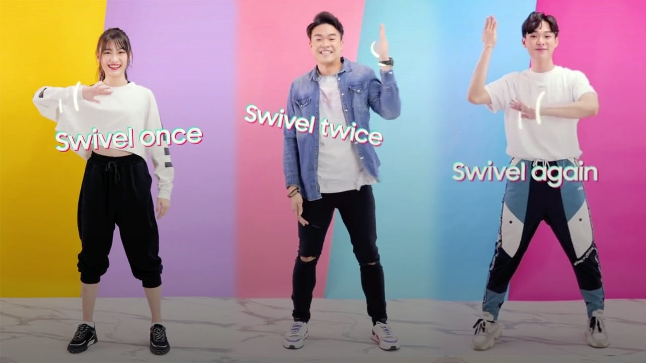 Samsung and TikTok team up for a dance challenge in